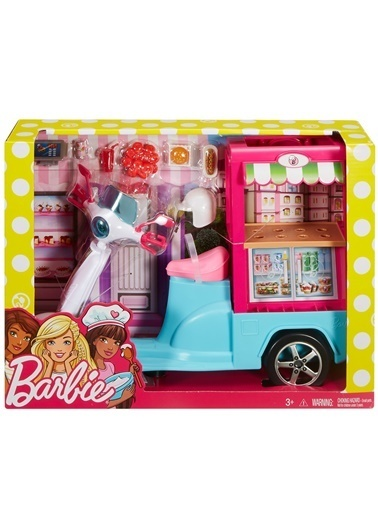 Barbie Barbienin Yemek Arabası Renkli